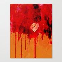 Blood Mania Canvas Print