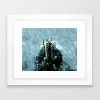 Nazgul After The Ring - Painting Style Framed Art Print