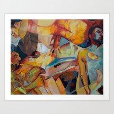 Insomnia Art Print