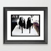 Shoes - Jimmy Choo II Framed Art Print