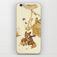 Harvey The Greedy Chipmu… iPhone & iPod Skin