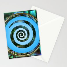 Paua Koru 2 Stationery Cards