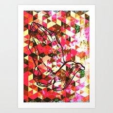 Prayer Prism Art Print