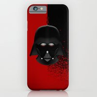 darth vader iPhone & iPod Cases featuring Darth Vader by Oblivion Creative