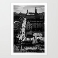 Slussen Art Print