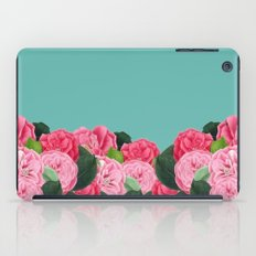 Floral & Turquoise iPad Case