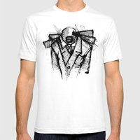 Wraith I. Mens Fitted Tee White SMALL