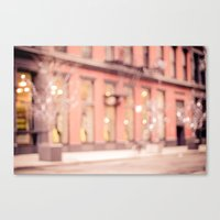 New York Is A Dream Canvas Print