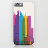 iPhone & iPod Case featuring Shapes of Pittsburgh. Accurate to scale by Glen Gould