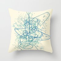 QAYAQ Throw Pillow