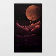 Stairway To the Moon Canvas Print
