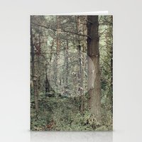 Cycle (Forest) Stationery Cards