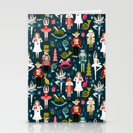 Nutcracker Ballet By And… Stationery Cards