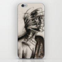 defense mechanism iPhone & iPod Skin