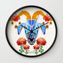 chinese goat Wall Clock