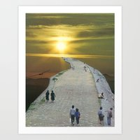 Go For A Walk In The Par… Art Print