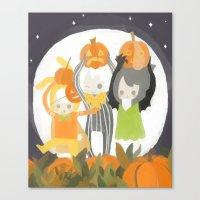 It's the Great Pumpkin Cake Canvas Print