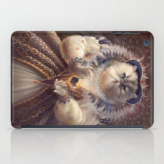 Cat Queen iPad Case
