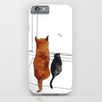 iPhone & iPod Case featuring cat and dog  by memories warehouse by @aikogg