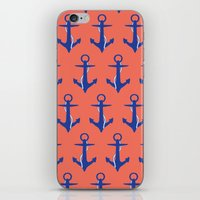 Anchors iPhone & iPod Skin