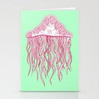 Mint Jelly Stationery Cards