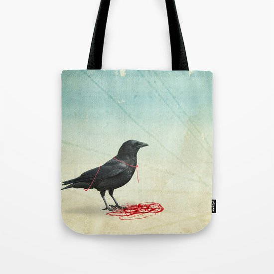 freedom  _ black crow Tote Bag