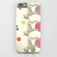 iPhone & iPod Case featuring Oodles of Poodles by Cassia Beck