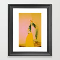 Christ Was Born In China Framed Art Print