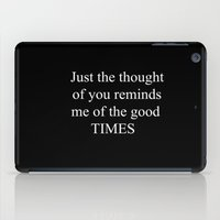 Good Times iPad Case
