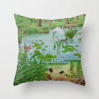 A Day Of Forest (4). (th… Throw Pillow