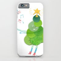 iPhone & iPod Case featuring O Christmas Tree by Julia Lavigne