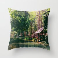 Poisson Palace Throw Pillow