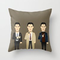 Watching The Detectives … Throw Pillow