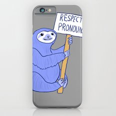 Trans Rights Sloth iPhone 6 Slim Case