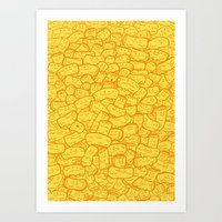 Mac and Cheese Art Print