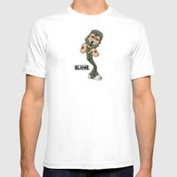 BLANKM GEAR - BREAKDANCE… Mens Fitted Tee White SMALL
