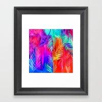 Tropical Heat Framed Art Print