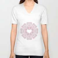 Love Lace Unisex V-Neck