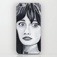 Zooey iPhone & iPod Skin
