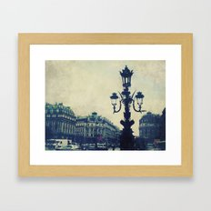 Paris in August Framed Art Print