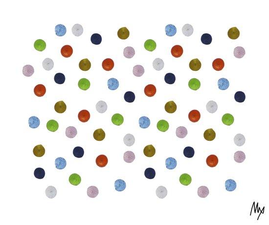 Pinpoint Dots Canvas Print