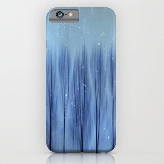 Winter Blues iPhone & iPod Case