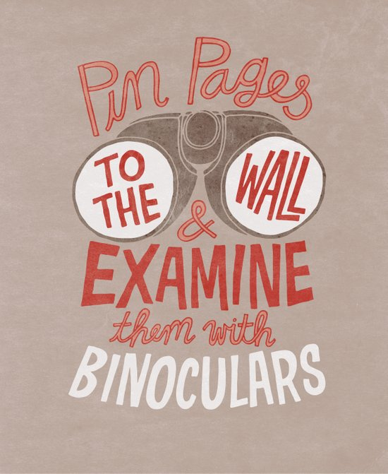 Pin Pages to the Wall Art Print