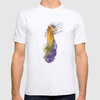 Fashion - Ice Queen Mens Fitted Tee Ash Grey SMALL
