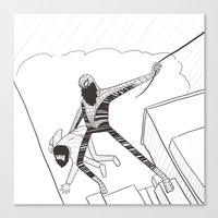 Spider-Beard Canvas Print