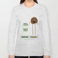 COFFEE & COOKIE Long Sleeve T-shirt