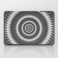 Monochrome Rings iPad Case