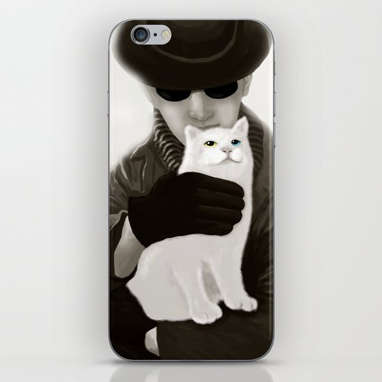 Cat and Alien iPhone & iPod Skin