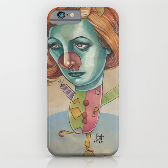 JUGGLING CLOWN iPhone & iPod Case