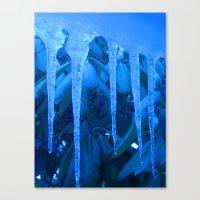 Blue Melody Canvas Print